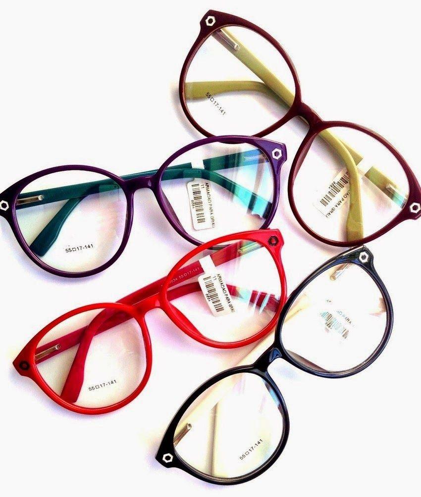 819e29e7d65c8 Loucos por Óculos  Armações Coloridas …   meus looks   Pinte…
