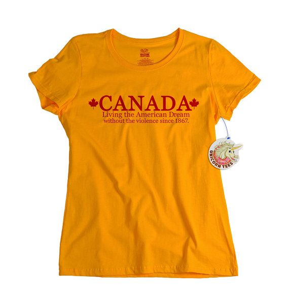 Canada Shirt - Proud Canadian - Maple Leaf Design - Tshirts for ...