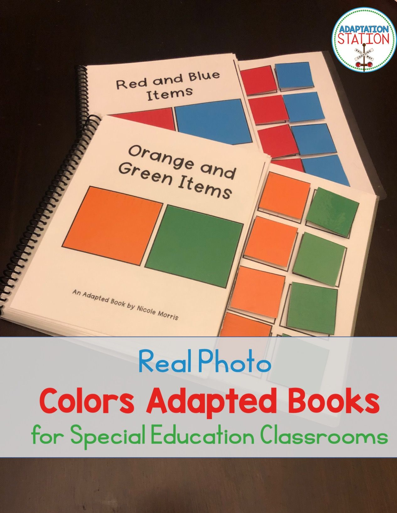 Colors Basic Task Cards With Real Photo