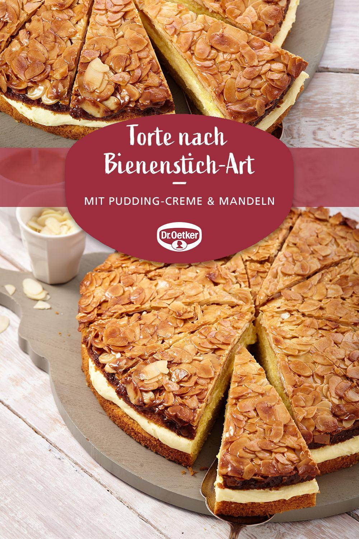 Torte Nach Bienenstich Art O 26 Cm Rezept Schneller Kuchen Mit Pudding Bienenstich Rezept Und Bienenstich Kuchen