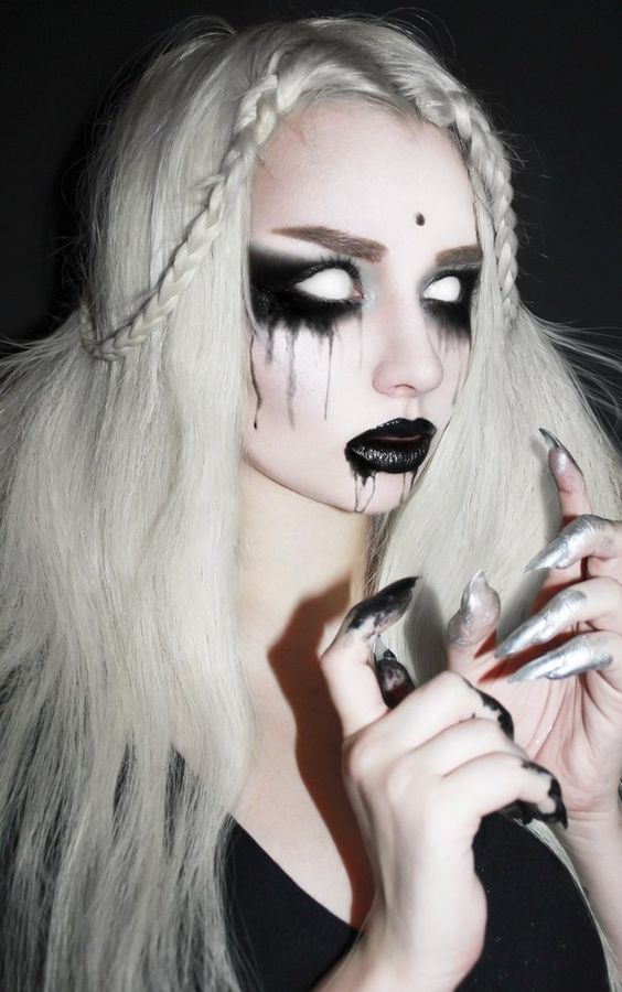 Image result for eye face paint halloween costume ideas for teens - face painting halloween ideas