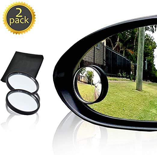 Amazon Com Drive Safe Blind Spot Mirrors Hd 2 Fixed Round Glass Blind Spot Mirror 2 Pack Ultimate Rear View In 2020 Blind Spot Mirrors Safe Blinds Rear View Mirror