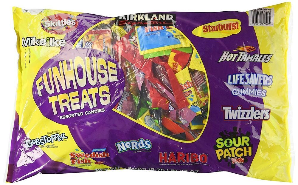 Kirkland Signature Funhouse Treats Assorted Candy 92 Oz Bag