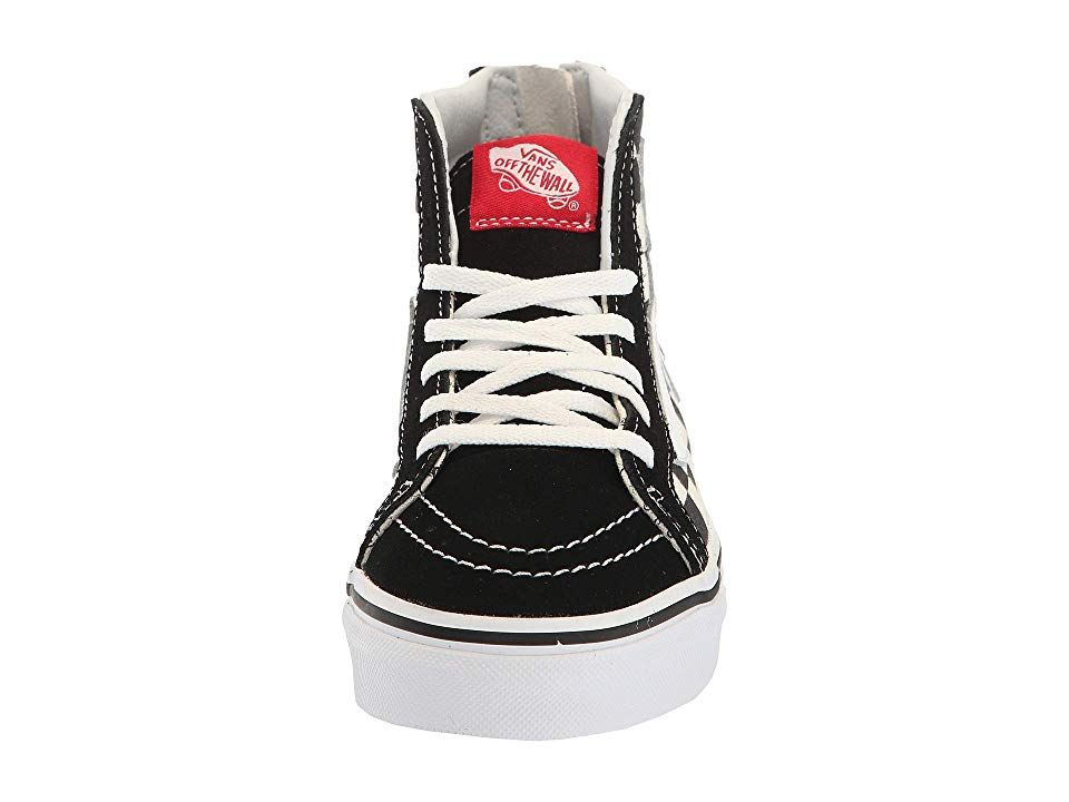488862aebe Vans Kids Mickey s 90th Sk8-Hi Zip (Little Kid Big Kid) Kids Shoes (Disney)  80s Mickey Checkerboard