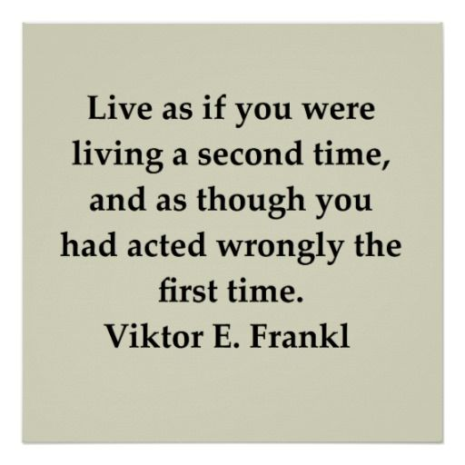 Victor Frankl Quote Poster Zazzle Com Victor Frankl Quotes Quote Posters Victor Frankl