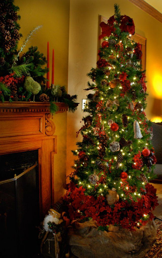 Living Room Christmas Decor; Christmas Pinterest Navidad