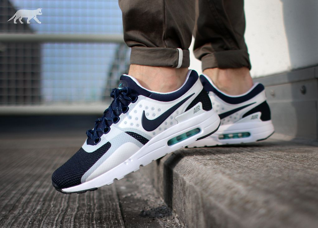 Nike Air Max Zero White Rift Blue Hyper Jade Midnight Navy