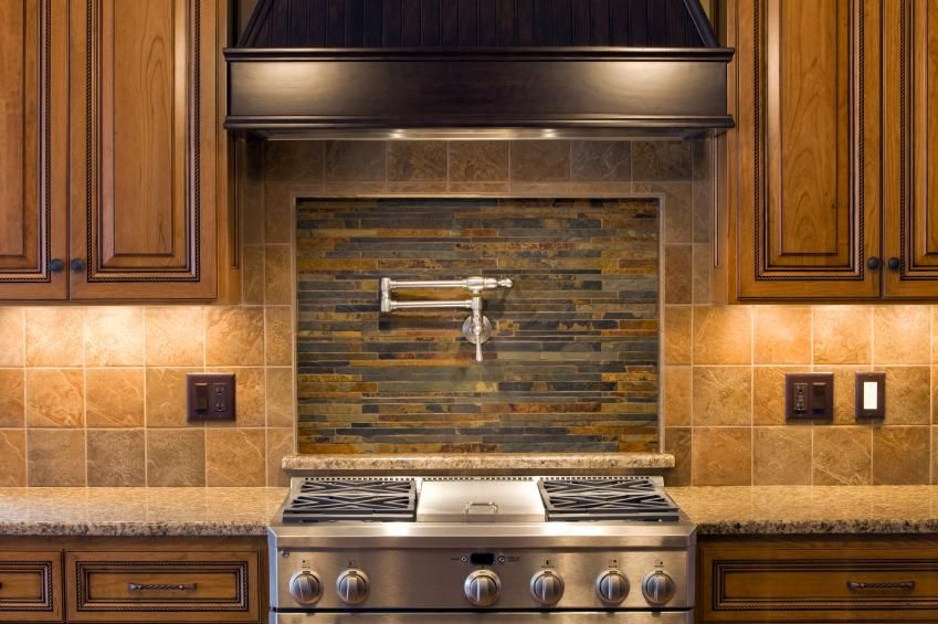 Wonderful Stacked Stone Backsplash Ideas Part - 5: Stacked Stone Backsplash Tile Sheets | Stacked Stone