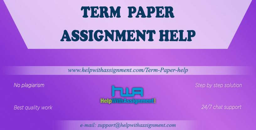 Need term paper