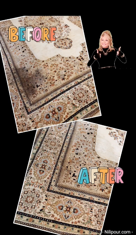 Happy Transformation Tuesday  👋 Mission -- extreme mildew & toxins removed -- Accomplished    A process of patience, diligence, willingness and consistency brings results!  Need your rugs CLEANED and RESTORED?  We've got you covered!  #NilipourOrientalRugs #familybusiness #since1972 #rugcleaners #rugcleaning #arearugcleaning #orientalrugcleaning #rugrestoration #arearugrestoration #orientalrugrestoration