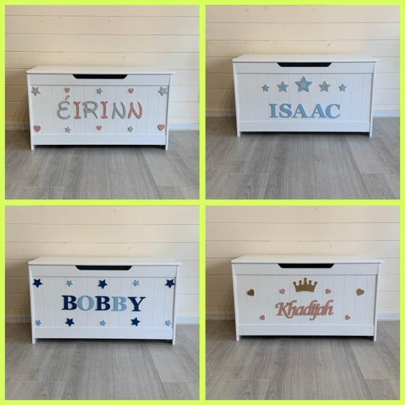 Personalised wooden toy box with soft close lid EXTRA LARGE many designs, wooden plaques #bigtoybox Personalised wooden toy box with soft close lid EXTRA LARGE many designs, wooden plaques #bigtoybox