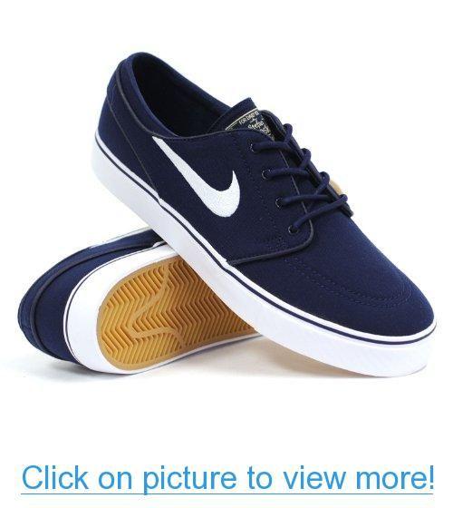 b9fe611d90db Nike Sb Zoom Stefan Janoski Canvas (Obsidian Gum Light Brown Metallic Gold  Star White) Mens Skate Shoes