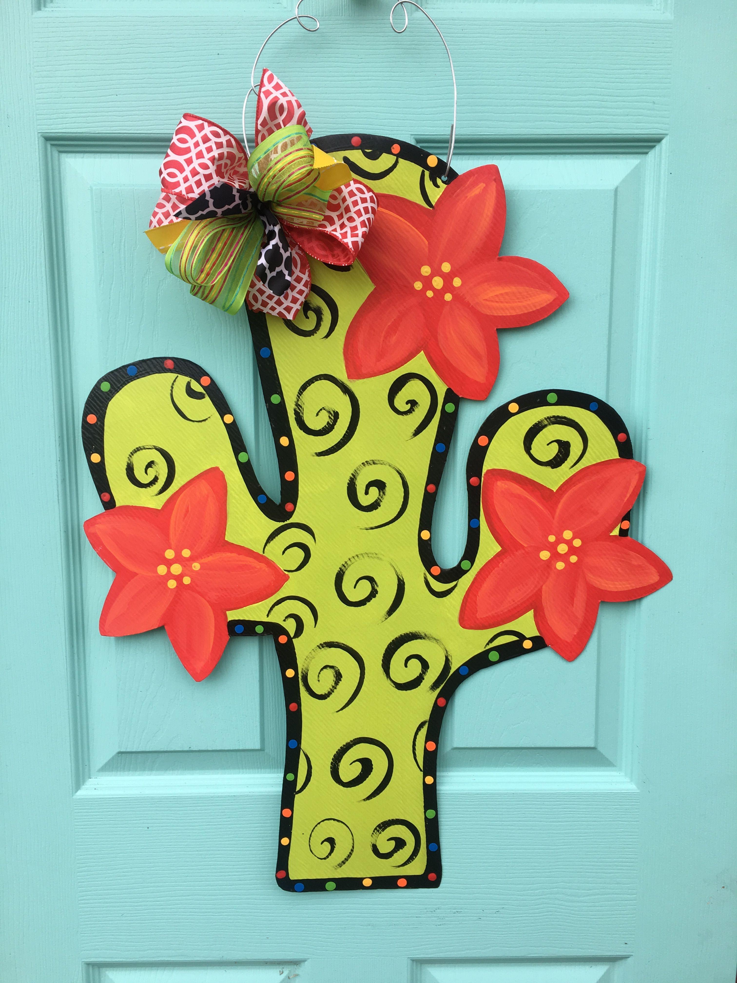 Sunflower Door Hanger Baby