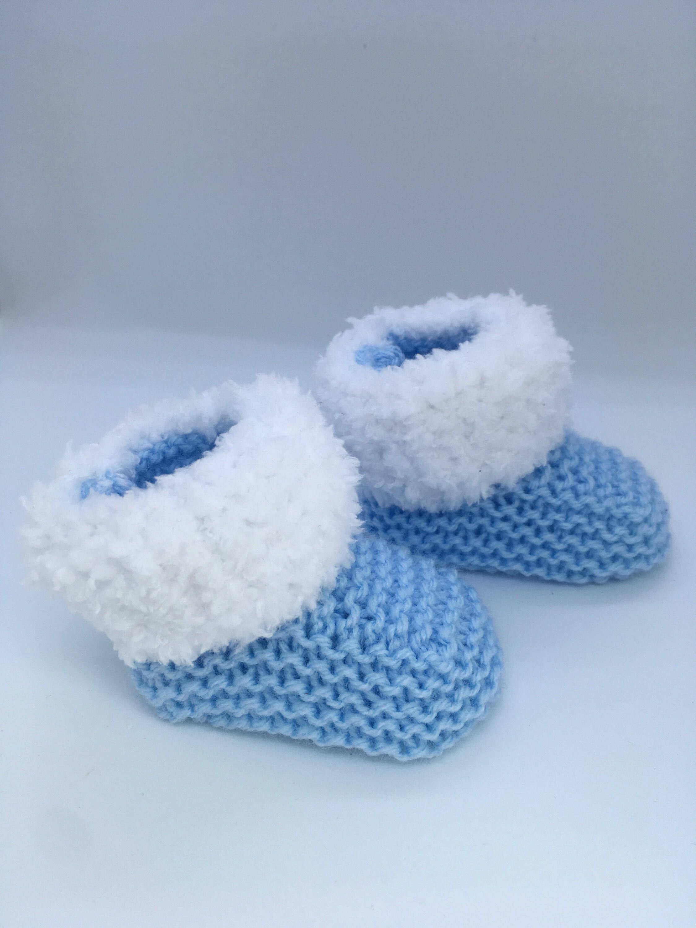 1ae7cde6885 Baby Booties, Newborn Baby Shoes, Knitted Socks, Baby Shower Gift ...