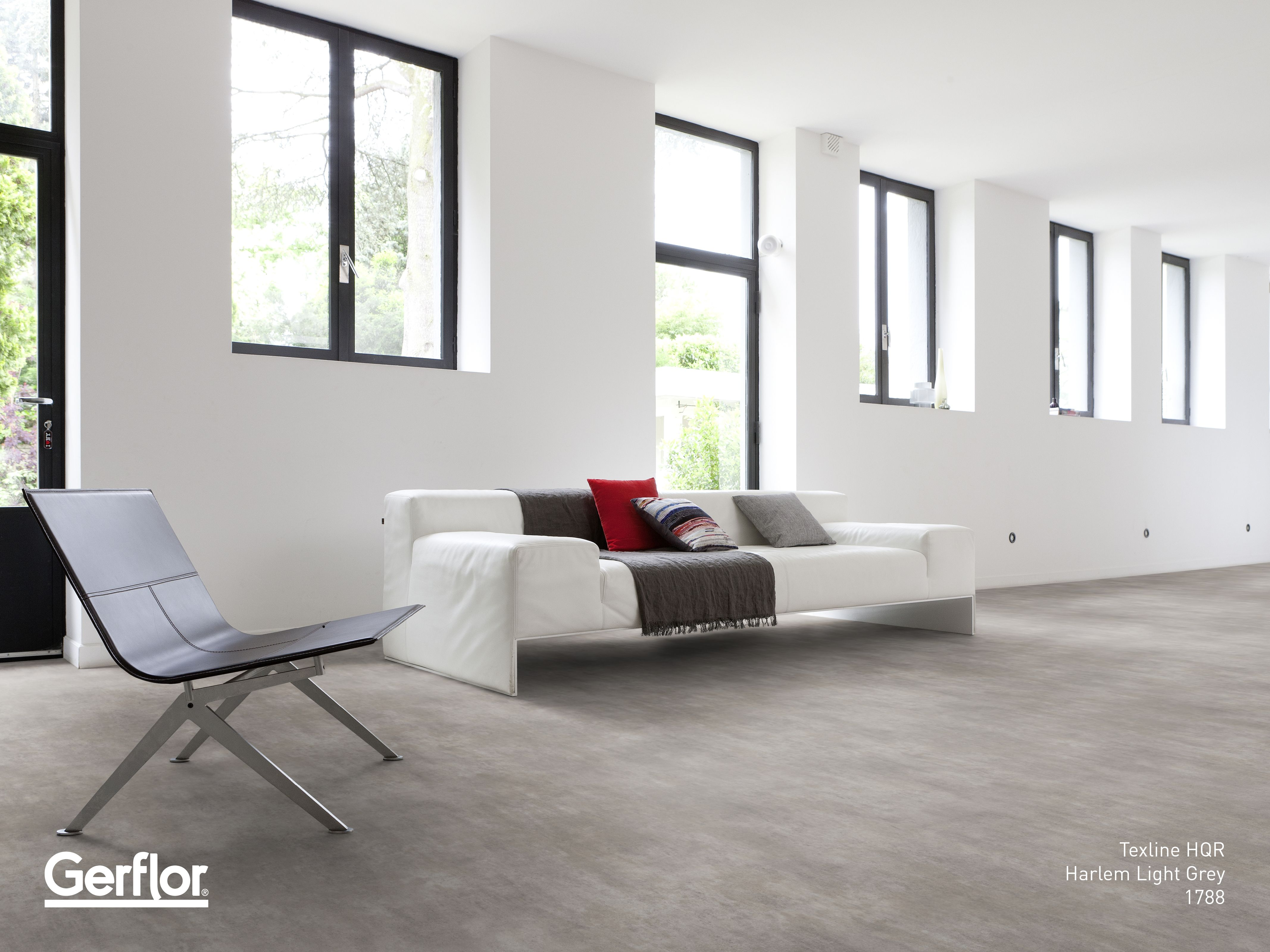gerflor s new range of texline hqr features graphic lines and