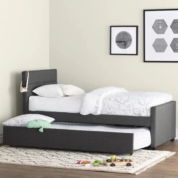 Algrenon Twin Platform Bed with Trundle Twin platform