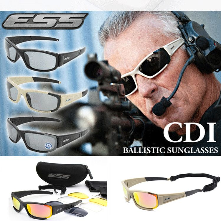 ab6a9135be9 sale 2017 original polarized ess cdi rollbar cycling sunglasses men uv400 4 lenses  goggles tactical  sunglass  lenses