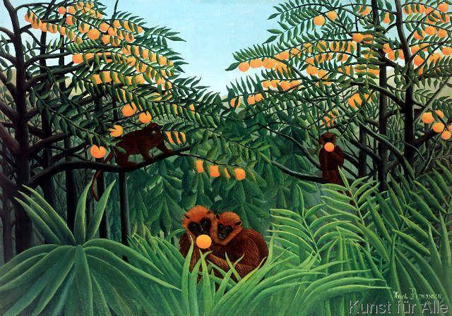 Henri J.F. Rousseau - The Tropics