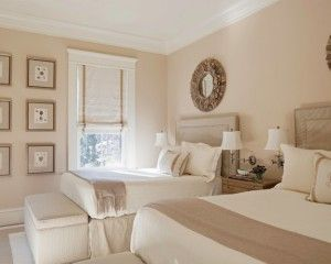 beige wit slaapkamer - google zoeken   inspiratie slaapkamer, Deco ideeën