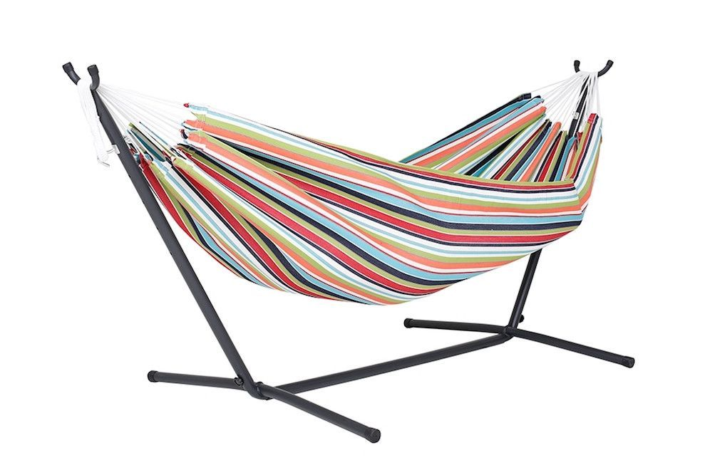 sunbrella hammock with stand  9 foot  sunbrella hammock with stand  9 foot    hammock hooks double      rh   pinterest
