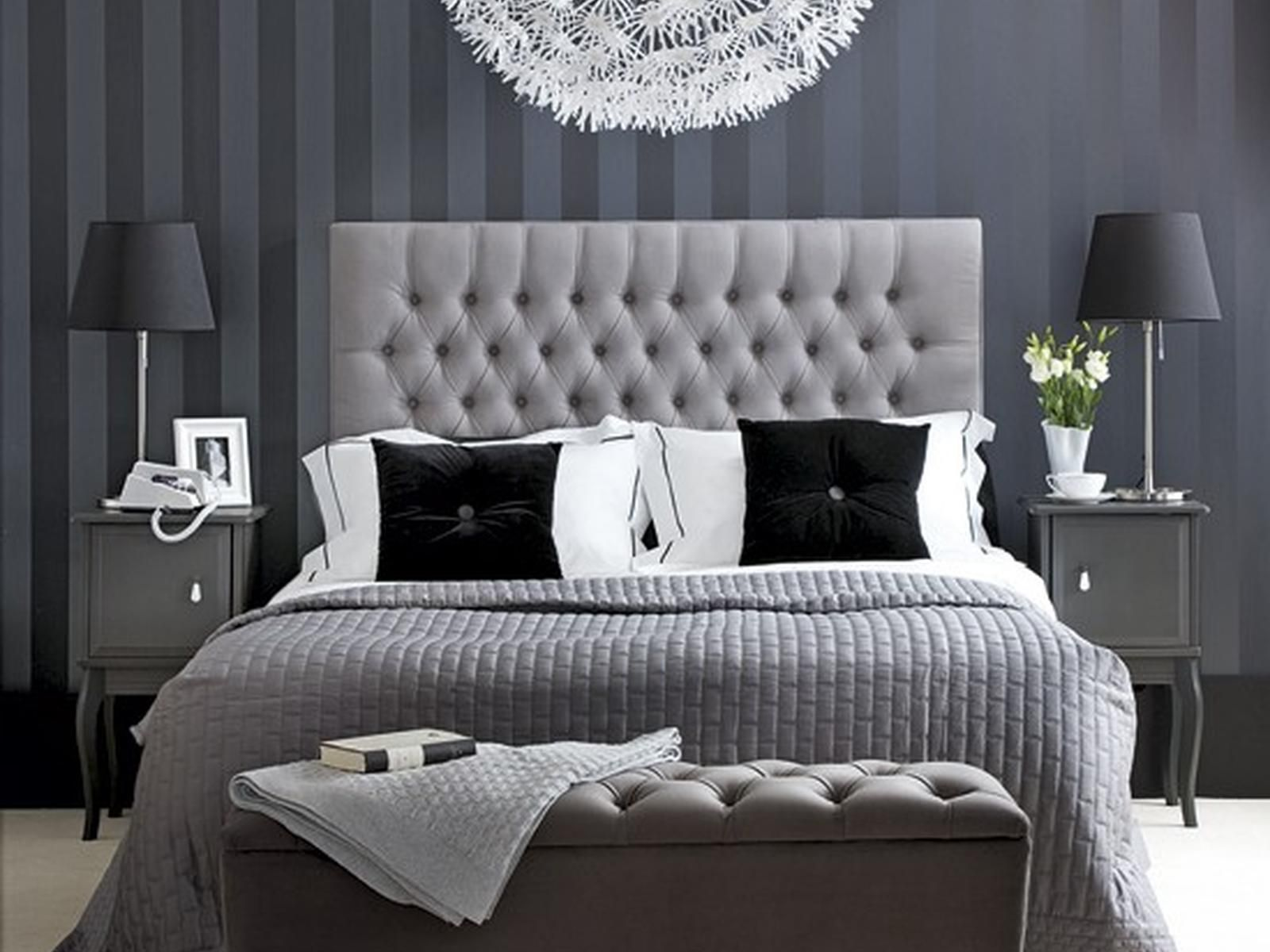 Bedroom Black White And Grey Bedroom Ideas Curtains For Picture