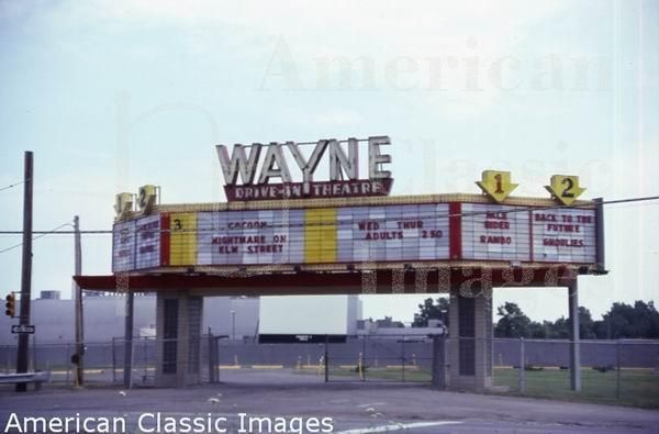 Wayne Drive In Wayne Drive In Theatre In Wayne Michigan This Drive In Has Since Drive In Theater Drive In Movie Theater Wayne