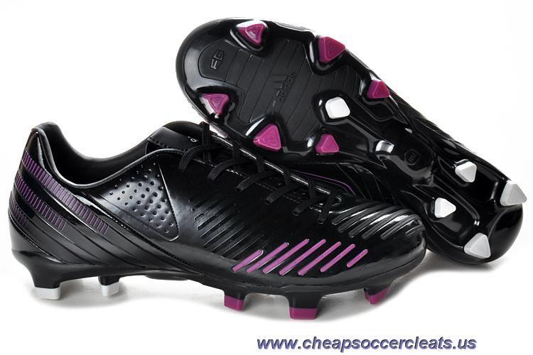 best service 0dc26 42fc2 Football boots · Bright Black-Pink-Black Adidas Predator LZ TRX FG Sale