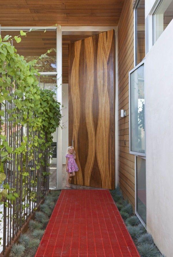 . 50 Modern Front Door Designs   doors   Front door design  Modern