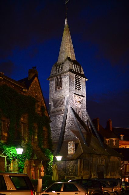 Medieval Night, Honfleur, Normandy, France