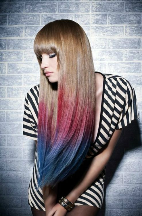 New Ombre Styles For 2014 Hair Styles Long Hair Styles Hair Color Trends