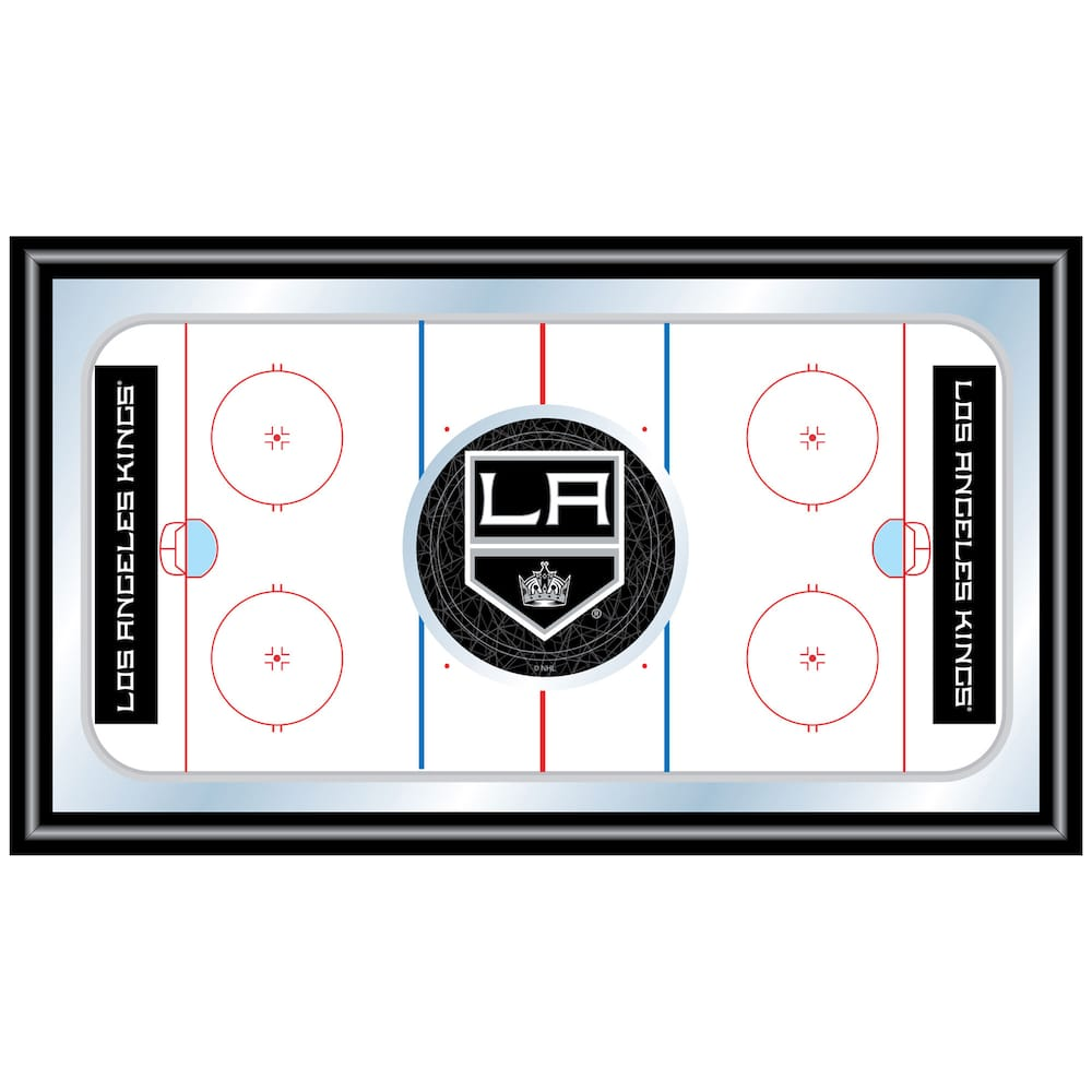 Los angeles kings framed hockey rink wall art multicolor products