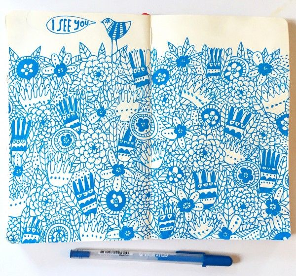 Lisa Congdon sketchbook