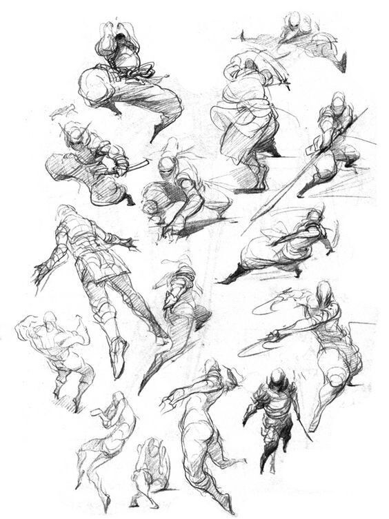 Perspective Art Reference Poses Fighting Drawing Art Reference Photos