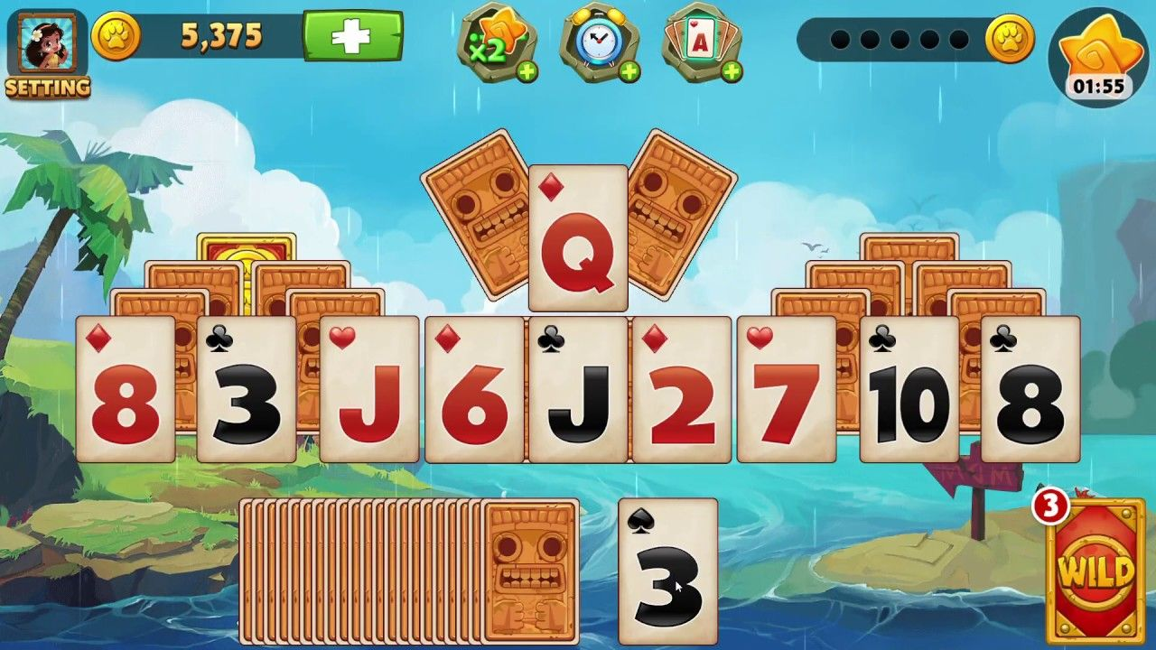 World of Solitaire CARD GAME play World of Solitaire