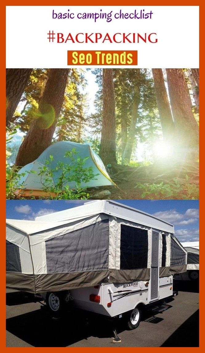 Basic camping checklist #backpacking #seo #boardideas #outdoors. camping chec…