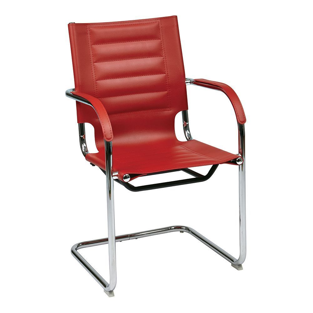 Avenue Six Trinidad Guest Chair, Red