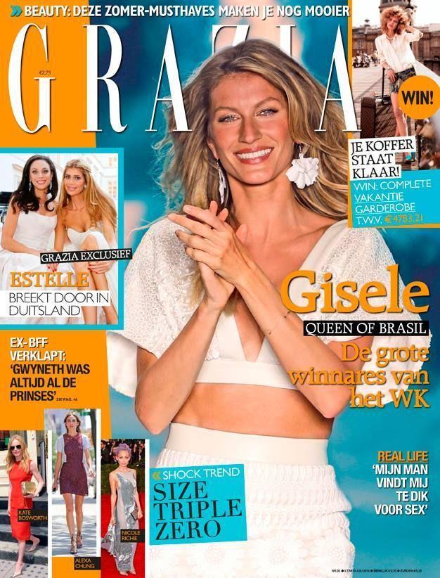 Gisele Bündchen, Grazia Magazine [Netherlands] (10 July ... Gisele Bundchen Facebook