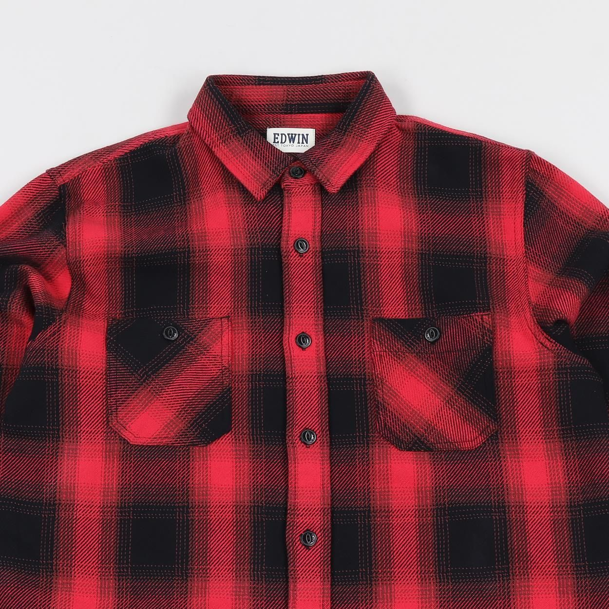 5fe864f0515f Edwin Heavyweight Long Sleeved Labour Shirt. When it comes to a shirt in  the cold