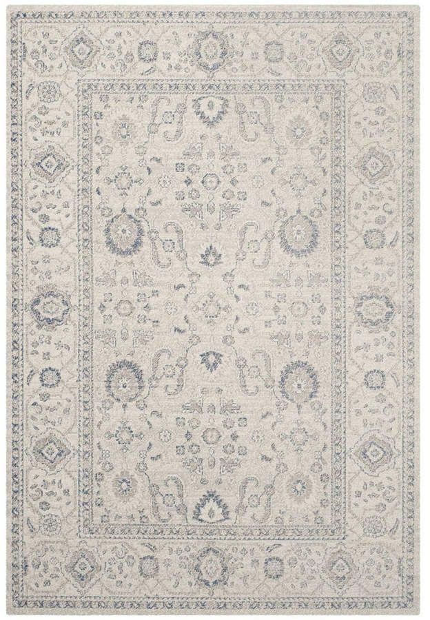 Safavieh Patina Light Gray And Ivory 10 X 14 Area Rug Area