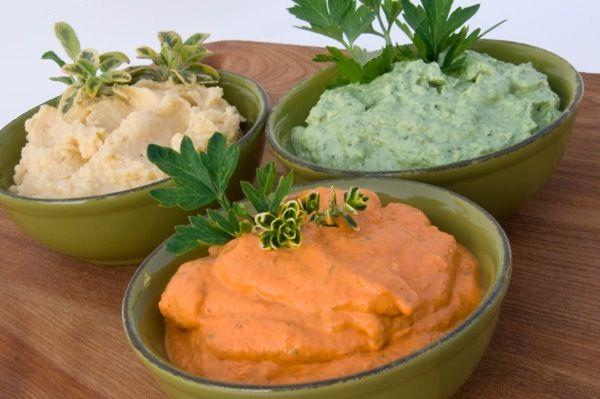 3 Dips fáciles y deliciosos, para sorprender a los tuyos - Lógica Ecológica