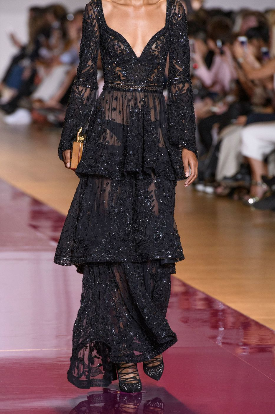 A sky full of sequins u zuhair murad couture fall u runway