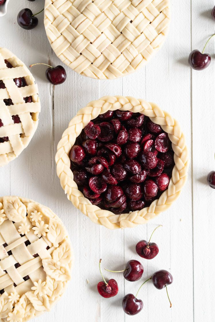Cherry Pie Recipe Cherry pie, Food, Summer desserts