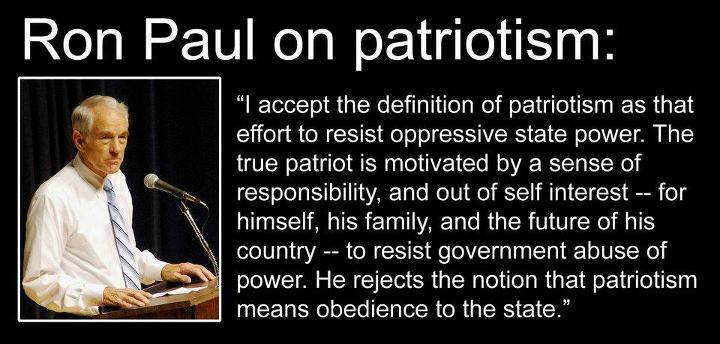 the definition of patriotism