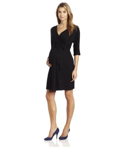c036093880 Three Seasons Maternity Women s 3 4 Sleeve Dolman Surplice Dress Three  Seasons Maternity.  40.00. 95% Rayon 5% Spandex. Great for any occasion.  Soft fabric.