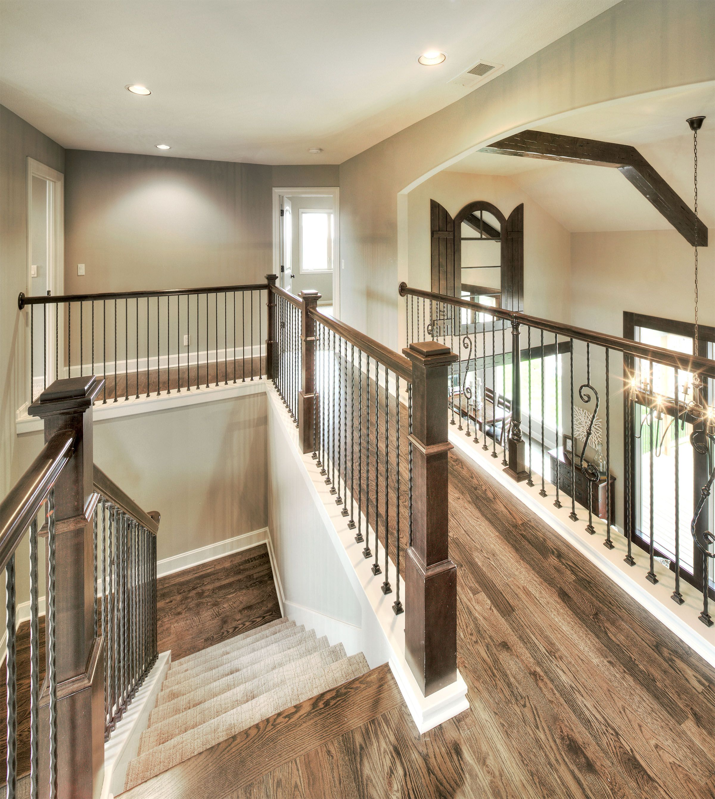 Merveilleux Hardwood Floors: Upstairs Hall Hardwoods Http://www.bickimerhomes.com/
