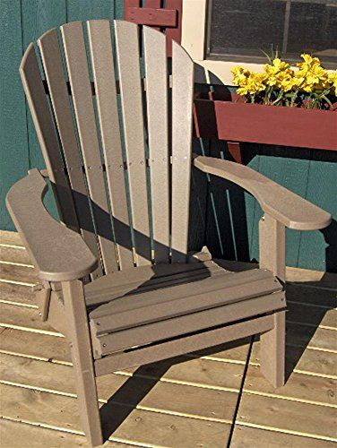 phat tommy recycled poly deluxe folding adirondack chair eco