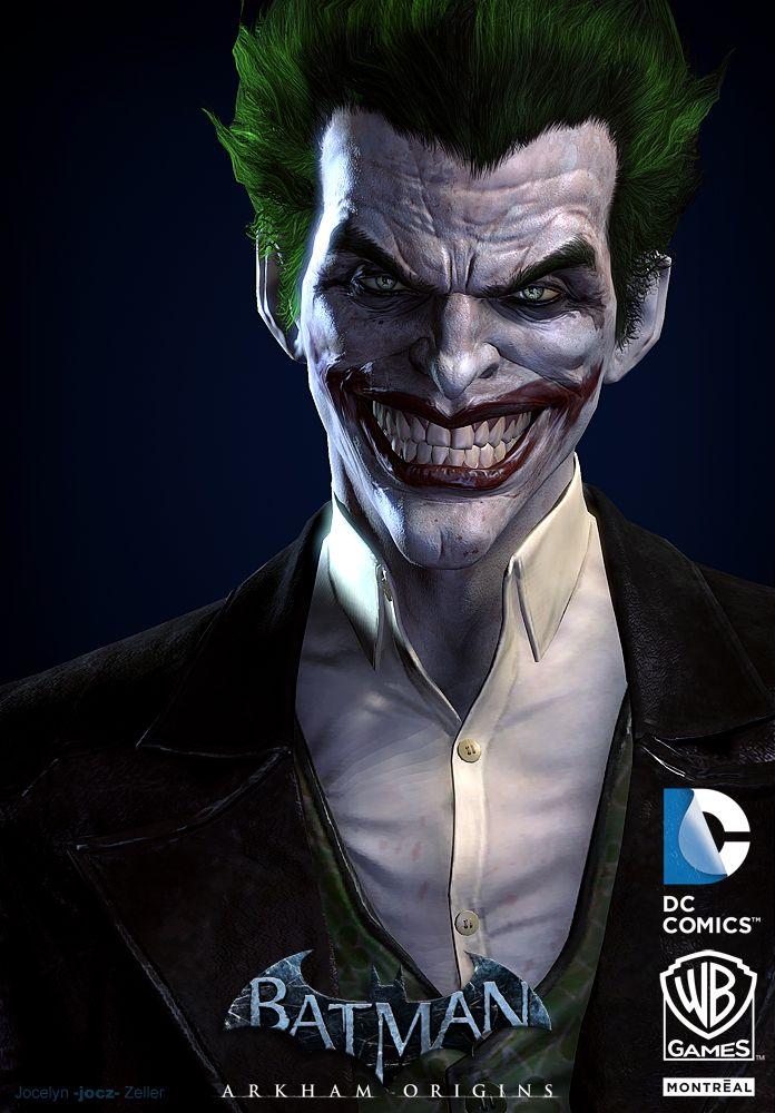Joker batman arkham origins between a god and a clown face joker batman arkham origins voltagebd Images