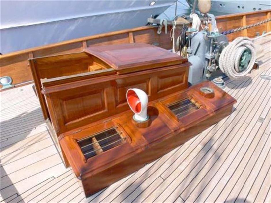 Thendara Yacht for Sale 120 Alexander Stephen & Sons