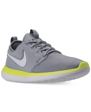 Nike Men's Roshe Run Casual Sneakers from Finish Line