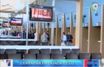 Cerrarán Embajada De EE.UU En El País Por Mantenimiento De Base De Datos #Video